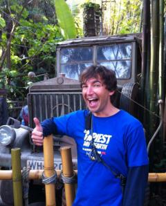 Chris Howard, Indiana Jones Ride