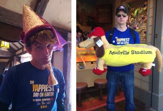 Rapunzel Hat and Hot Dog prize