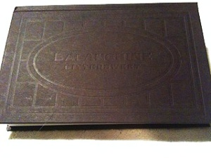 Embossed cover design