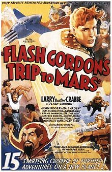 Flash Gordon's Trip to Mars movie poster