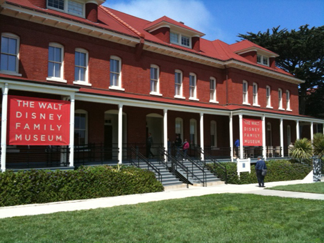 Front of the Walt Disney Family Museum