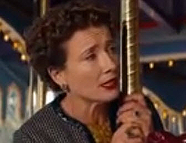 Emma Thompson as P.L. Traverse
