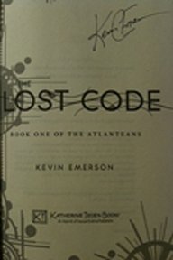 The Lost Code autographed by author
