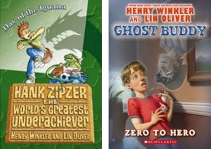 Hank Zipzer and Ghost Buddy covers