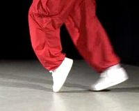 Moonwalk steps