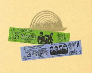 The Beatles at the Hollywood Bowl album cover art