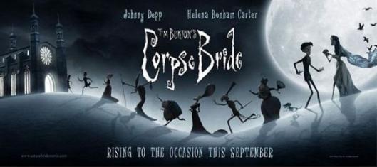 Corpse Bride movie poster