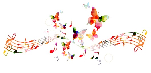 Musical butterflies