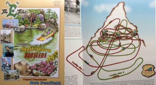 Disneyland's Matterhorn Bobsleds, E Ticket Magazine