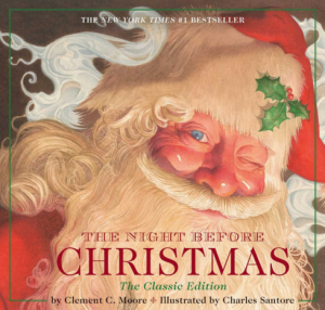 The Night Before Christmas, book cover