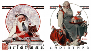 Santa Claus, Norman Rockwell
