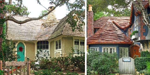 Hugh Comstock cottages, Carmel, CA