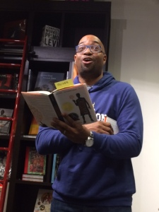 Kwame Alexander reading from The Crossover