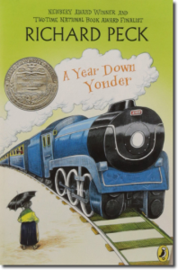 A Year Down Yonder, cover
