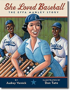 She Loved Baseball: The Effa Manley Story cover