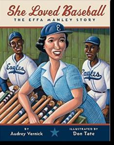 She Loved Baseball: The Effa Manley Story cover
