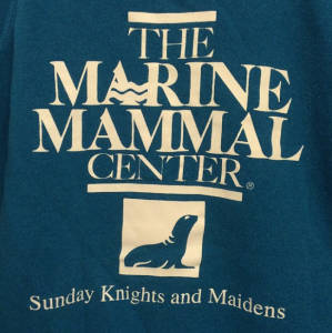 Marine Mammal Center Sunday Crew sweatshirt logo