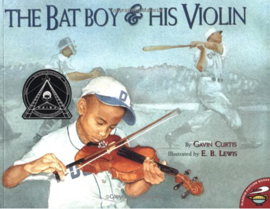 The Bat Boy and His Violin, cover