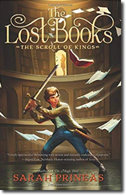 The Lost Books: The Scroll of the Kings, cover
