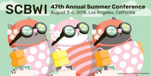 SCBWI LA Conference poster 2018